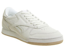 Womens Reebok Phase 1 Pro Trainers White Bare Beige Rose Gold Chalk Trainers Sho
