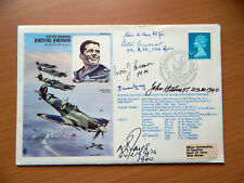 RAF Museum Historic Aviators First Day Postal Cover Series RAFM HA Signed