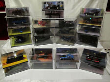 EAGLEMOSS BATMAN AUTOMOBILIA DETECTIVE COMICS VEHICLES * PICK YOURS * DIECAST