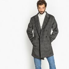 La Redoute Collections Man Doublebreasted Checked Coat