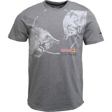 Red Bull Competición F1 Reflectante Informal Gris Camiseta - 573440 02