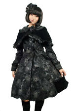 Black coat patterns, nodes and bolero gothic lolita ly-021 Pyon Pyon