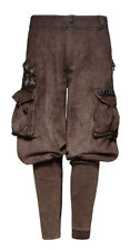 Brown pants military mechanic steampunk man with large p Punk Rave