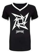Metallica T-shirt Star V-Neck Women's Black