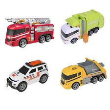 Large Light Amp Sound Toy Vehicles By Teamsterz Skip Lorry