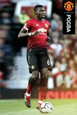 Manchester United Poster Pogba 18-19 MUFC 61x91.5cm