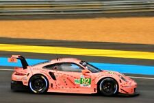 Porsche 911 RSR no92 pink pig 24 Hours of Le Mans 2018 photograph picture print