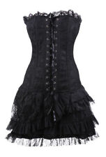 Dress corset black with flying r060019 Pentagramme