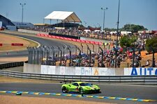 Ferrari 488 GTE no83 24 Hours of Le mans 2017 photograph picture poster print