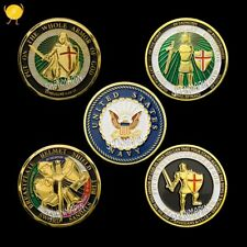 3/pcs different styles God gives defensive armor commemorative coins high