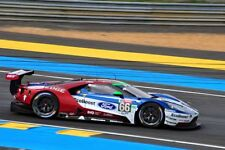 Ford GT no66 24 Hours of Le Mans 2018 motorsport photograph picture poster print