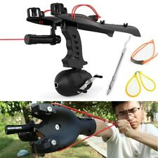 Hunting Pro Slingshot Fishing Catapult Outdoor Bow Velocity Rubber Band Gift Toy