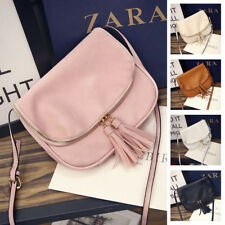 Women Lady Messenger Leather Handbag Shoulder Purse Satchel Crossbody Tote Bag