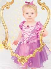 Girls Disney Princess Baby Rapunzel Fancy Dress Costume