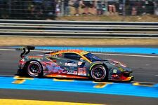 Ferrari 488 GTE no61 24 Hours of Le Mans 2017 photograph picture poster print