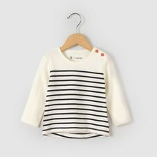 La Redoute Collections Girl Striped Tshirt, 1 Month3 Years