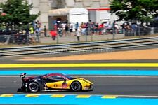 Ferrari 488 GTE no84 24 Hours of Le Mans 2017 photograph picture poster print
