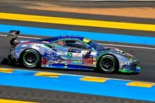 Ferrari 488 GTE no60 24 Hours of Le Mans 2017 photograph picture poster print