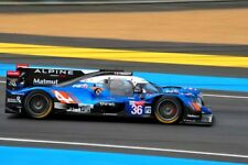 Alpine A470 Gibson no36 24 Hours of Le Mans 2018 photograph picture poster print