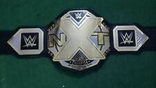 WWE NXT Wrestling Championship Belt Original Leather & Plated Adult Size Replica