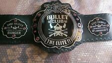 Bullet Club Wrestling Championship Belt Original Leather & Thick Plated Replica