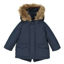 La Redoute Collections Boy Parka With Faux Fur Hood, 3 Months3 Years