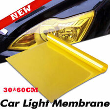 Auto Car Smoke Fog Light Lamp Headlight Taillight Tint Vinyl Film Sheet Sticker