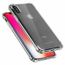 For iPhone Cases XS Max XR X 6 7 8 Plus Genuine Slim TPU Shockproof Apple covers