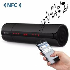 Wireless BTV3.0 NFC Speaker Smooth LCD FM Radio for iphone 8 plus Samsung