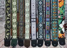 """Ukulele/Baritone/Tenor 2"""" wider longer Instrument Strap - Special Collection"""