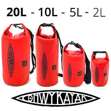 2L 5L 10L 20L Waterproof Storage Dry Carry Bag Sack Backpack Pouch Boat Kayak
