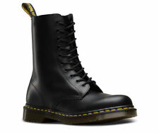 Men's Black Dr Martens 1490 Smooth Leather Boots Brand New
