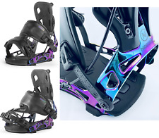 Flow Nidecker NX2 Espectros Enganches Snowboard Neochrome Step-In Sistema