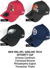 NEW ERA NFL SIDELINE TECH 39THIRTY CAP - CARDINALS/BROWNS/EAGLES/TITANS