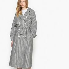 La Redoute Collections Womens Striped Trench Coat
