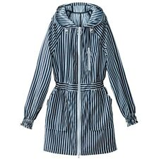 La Redoute Collections Womens Hooded Striped Windcheater