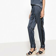 La Redoute Collections Womens Tie Waist Striped Pyjama Trousers, Length 29