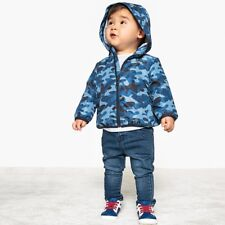 La Redoute Collections Boy Camouflage Print Windcheater, 1 Month3 Years