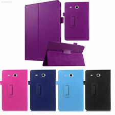 "Leather Tablet Stand Flip Cover Case Samsung Galaxy Tab E 9.6"" / A6 10.1 / 3 / 4"