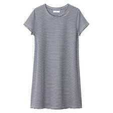 La Redoute Collections Girl Striped Tshirt Dress, 1016 Years