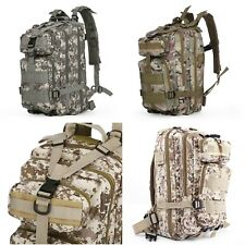 Outdoor Waterproof Military Tactical Pack Sports Backpack Camping Travel Bag 30L
