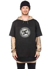 DC SHOES DRYDEN felpa tecnica snow uomo BLACK skate surf snow AI18