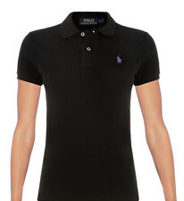 Ralph Lauren Women's Skinny Fit Short Sleeves Polo top in Different colors