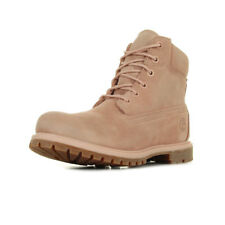Chaussures Boots Timberland femme 6 In Premium Suede WP Cameo Rose taille Suède