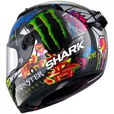 Shark Race-R Pro Carbon Replica Lorenzo Catalunya Gp Racing Helm silber-rot-grün