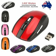 2.4GHZ Wireless Mouse Cordless Optical Scroll Mouse PC Laptop with USB DongleSG
