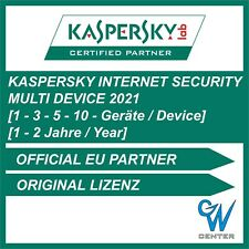 Kaspersky internet security 2019 / 2020 MD 1PC 3PC 5PC 10PC Geräte | 1 - 2 Jahre