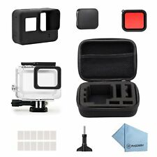 Rhodesy 18 in 1 Accessories for GoPro Hero 7(Only Black) Hero 2018 Hero 6 Hero 5