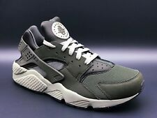 Nike Air Huarache 318429-311 Dark Stucco / Black / Green