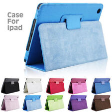 "Leather Tablet Stand Flip Cover Case Samsung Galaxy Tab A 7"" /A 10.1/ E 9.6/ 3 4"